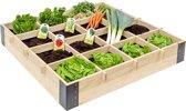 Westwood - Luxe vierkante meter tuin - 100x100 cm Mooie vierkante meter tuin | bloembak | moestuin | balkonbloembak | Douglas