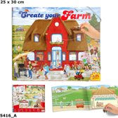 Create your Farm - boerderij stickerboek