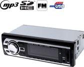 4 x 50 W LCD Car Audio MP3-speler met afstandsbediening, FM-radio functie, Ondersteuning SD / USB Flash Disk, DC 12V
