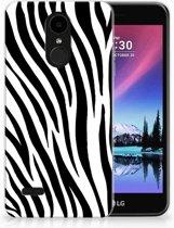 LG K4 (2017) TPU Hoesje Design Zebra