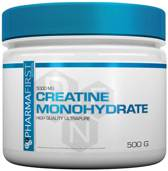 Pharma First - Creatine Monohydrate - 500 G - HIGH QUALITY ULTRAPURE - 100 porties