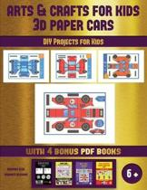 DIY Projects for Kids (Arts and Crafts for kids - 3D Paper Cars)