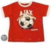 Ajax Thuisshirt Junior - Voetbalshirt - Kinderen - Maat 62/68 - Rood