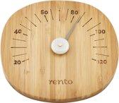 Rento Bamboe Sauna Thermometer