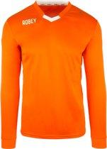 Robey Shirt Hattrick LS - Voetbalshirt - Orange - Maat L