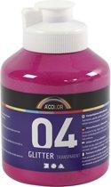 A-Color acrylverf, 500 ml, roze
