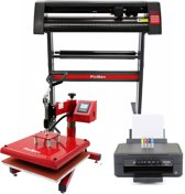 PixMax 38cm Swing Transferpers, Vinyl Cutter, Printer