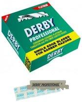 Derby Professional Single Blades 100 pcs