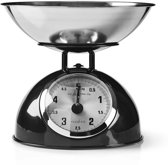 Retro Kitchen Scales | Analogue | Metal | Black