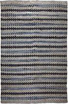 Kayoom met de hand gevlochten vloerkleed 120 x 170 Grijs