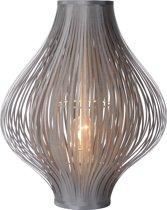 Lucide - POLI Tafellamp  - Ø36cm - H44cm - Grijs