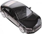 Welly Metalen Audi Tt 2014 Zwart 16 Cm