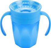Dr. Brown's Cheers 360 Cup met handles blauw 200 ml