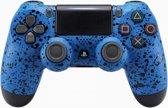 3D Splashing Blauw - Custom PlayStation PS4 Wireless Dualshock 4 V2 Controller