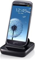 Samsung Desktop Dock EDD-D200BE (black) (o.a. voor Galaxy S3 mini,Galaxy S, Galaxy S2, Galaxy S3, Note 2, Galaxy Gio)