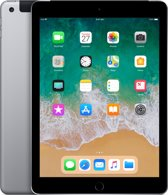 Apple iPad (2018) - WiFi + Cellular (4g) - 128GB - Spacegrijs