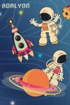 Space Notebook for Adalynn