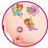 Muurstickers of decoratie sticker Elfen