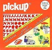 Pickup plakletters boekje Cooper 8mm letters + cijfers rood