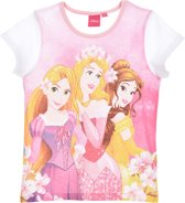Disney Princess Pyjama - Shortama - Wit - 104