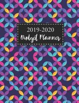 2019-2020 Budgeting Planner: Colorful Geometric Cover - Personal Finance Budget Planner - Monthly Bill Organizer - Daily Weekly Expense Tracker Wor