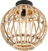 QAZQA canna - Plafondlamp - 1 lichts - Ø 300 mm - Beige