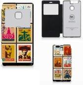 Huawei P9 Flip Cover Postzegels