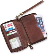 7604258dc17 Safekeepers - Leren Portemonnee vakjes en ruimte voor mobiel