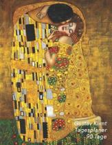 Gustav Klimt Tagesplaner 90 Tage