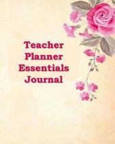 Teacher Planner Essentials Journal