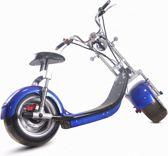 Electrische scooter Harley design Blauw met blauw kenteken (max 25 km/u)