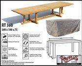 RT360 Hoes voor rechthoekige tuintafel 360 x 100 cm