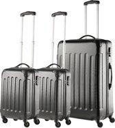 TravelZ - ABS Kofferset 3-delig met cijferslot -Tr