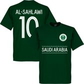 Saudi Arabië Al-Sahlawi 10 Team T-Shirt - Groen - XL