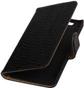 Huawei Nexus 6P Zwart | Snake bookstyle / book case/ wallet case Hoes  | WN™