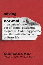 Boek cover Saving Normal van Allen Frances