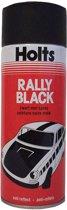 Holts Spuitverf Rally Black 500ml Spuitbus mat zwart