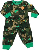 Fun2wear Jongens Pyjama Leger Groen 98
