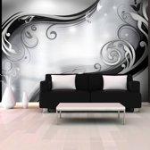 Fotobehang - Grey wall