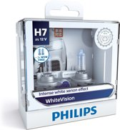 Philips white vision H7 koplamp set auto-2 stuks