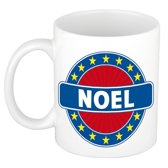 Noel  naam koffie mok / beker 300 ml  - namen mokken