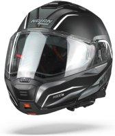 Nolan N100-5 Balteus 41 Flat Black White Systeemhelm - Motorhelm - Maat S