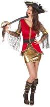 Piraten kostuum voor vrouwen  - Verkleedkleding - Medium