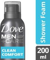 Dove Men + Care Clean Comfort Shower Foam - 200 ml