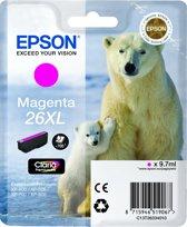 Epson 26XL (T2633) - Inktcartridge / Magenta / Hoge Capaciteit