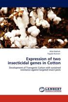 Expression of Two Insecticidal Genes in Cotton
