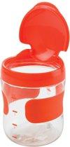 OXO tot Groot Flip-Top Snackdoosje Oranje