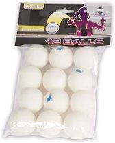 Buffalo Tafeltennisballetjes - Hobby - 12 stuks - Celluloidvrij