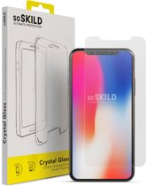 SoSkild Crystal Double Tempered Glass Screen Protector voor iPhone X | Xs