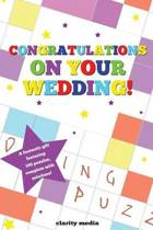 Congratulations on Your Wedding Puzzle Book